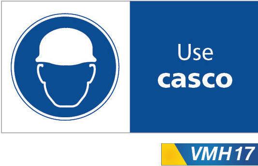 Señales de obligacion use casco