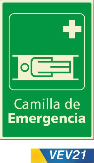 camilla de emergencia