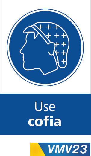 Señales de obligación use cofia