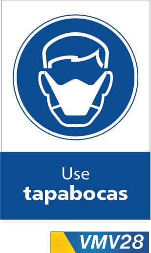 Señales de obligación use tapabocas