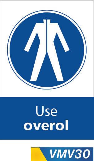 Señales de obligación use overol