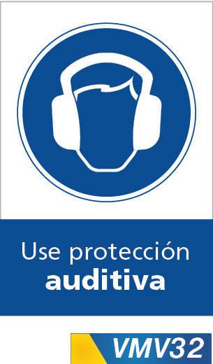 Señales de obligación use proteccion auditiva