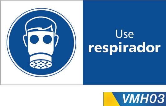 Señales de obligacion use respirador