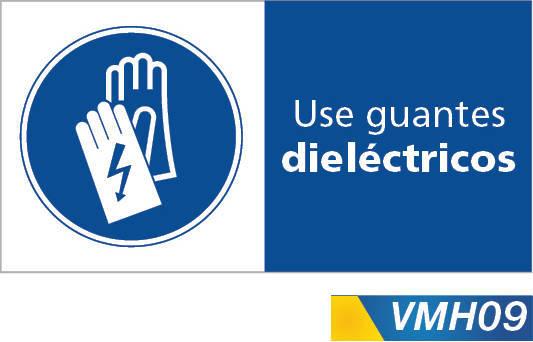 Señales de obligacion use guantes