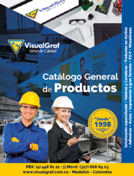 catalogo general de productos visualgraf