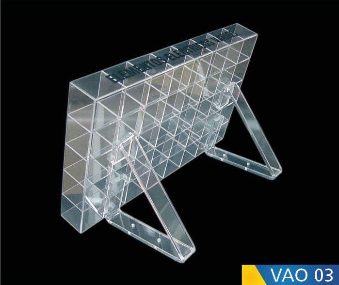 Cajas en acrílico para varios objetos