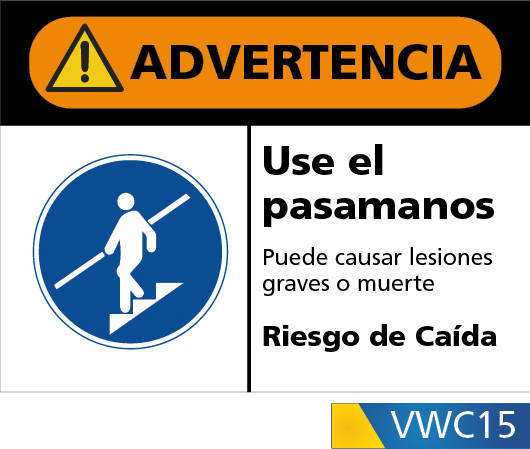 Señales de advertencia