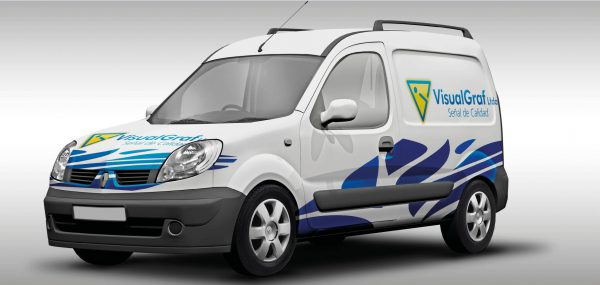 Impresión en vinilo vehicular