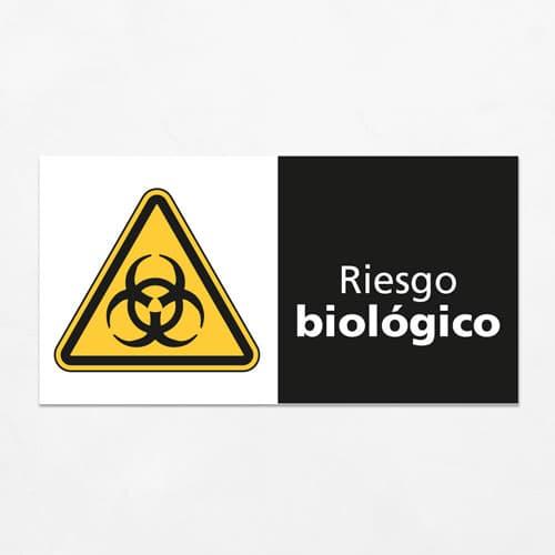 Señal Precaución Riesgo Biológico H