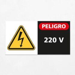 Señal Peligro 220 V H