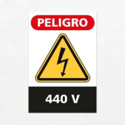 Señal Peligro 440 V V
