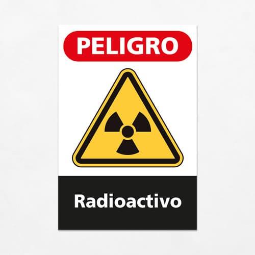 Señal Peligro Radioactivo V