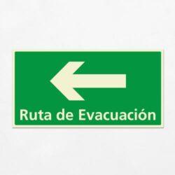 Señal Ruta de Evacuación VEH-15