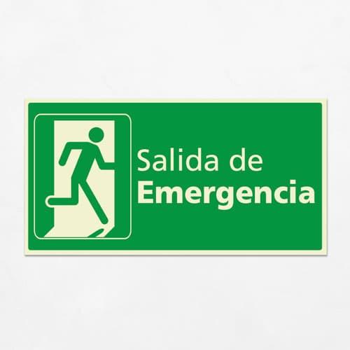 Señal Salida de Emergencia H