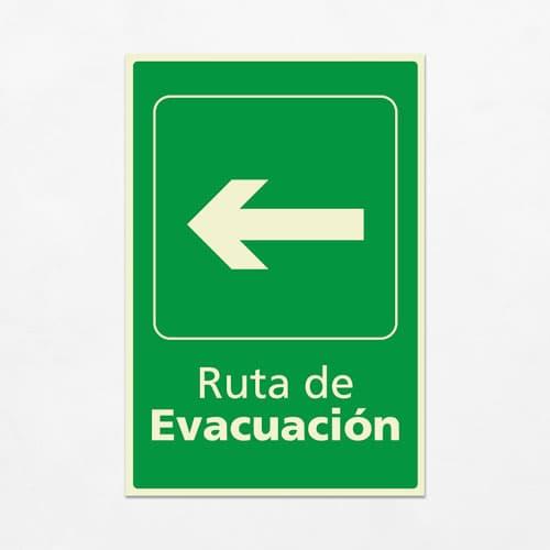 Señal Ruta de Evacuación VEV-02