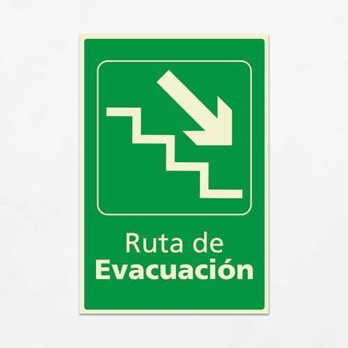 Señal Ruta de Evacuación VEV-05