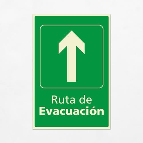 Señal Ruta de Evacuación VEV-08
