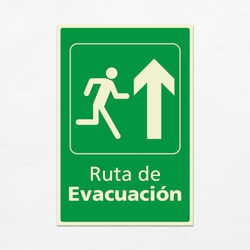 Señal Ruta de Evacuación VEV-10