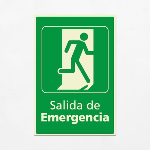 Señal Salida de Emergencia VEV-11