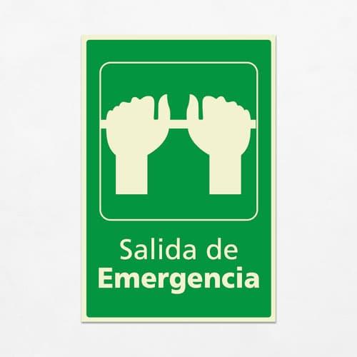 Señal Salida de Emergencia VEV-12