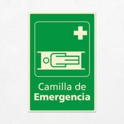 Señal Camilla de Emergencia V