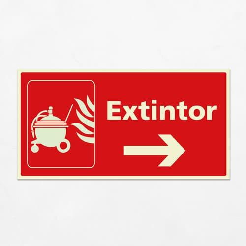 Señal Extintor VIH-08