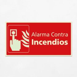 Señal Alarma Contra Incendios H