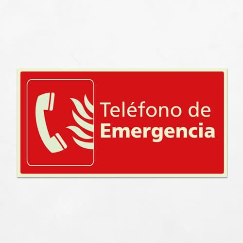 Señal Teléfono de Emergencia H