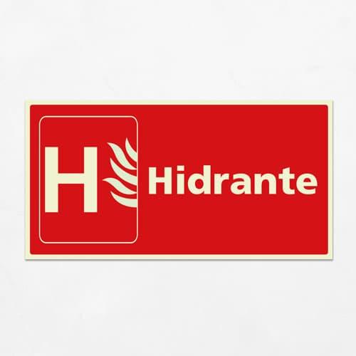 Señal Hidrante VIH-15