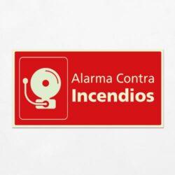 Señal Alarma Contra Incendios