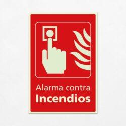 Señal Alarma Contra Incendios V