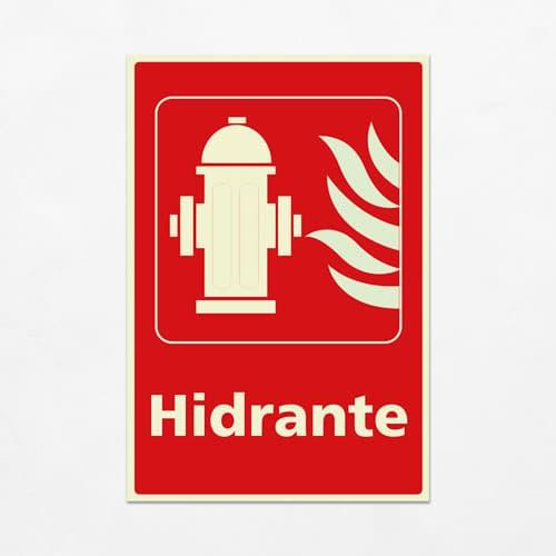 Señal Hidrante V