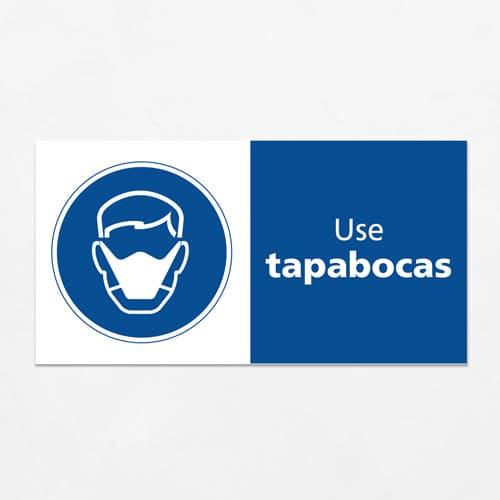Señal Use Tapabocas H