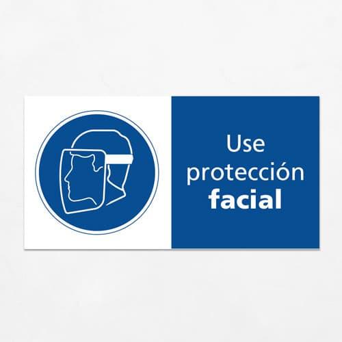 Señal Use Protección Facial H