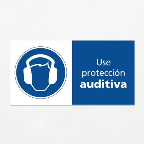 Señal Use Protección Auditiva H