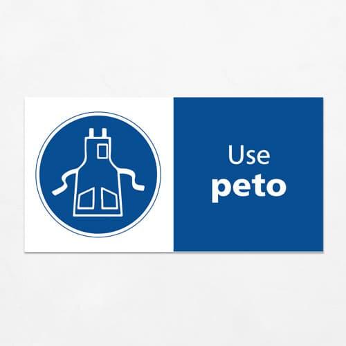 Señal Use Peto H