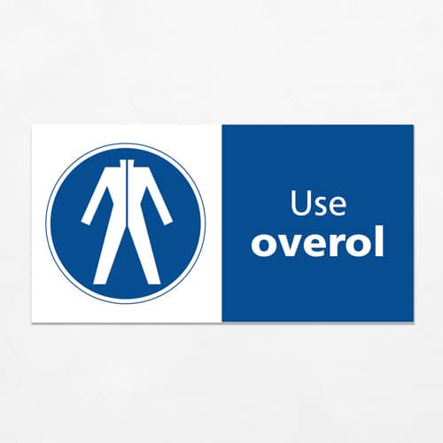 Señal Use Overol H