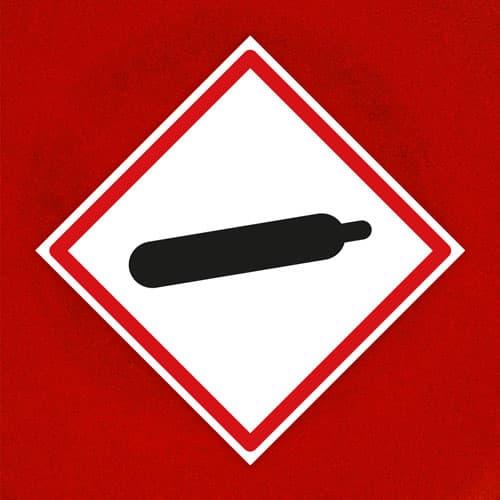 Señal Gas Presurizado