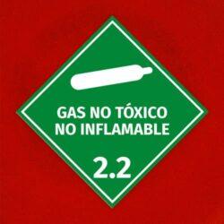 Señal Gas No Tóxico No Inflamable 2.2