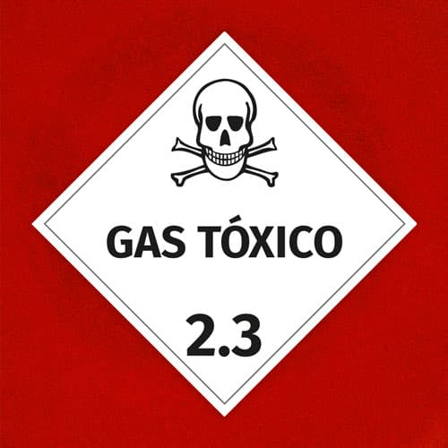 Señal Gas Tóxico 2.3
