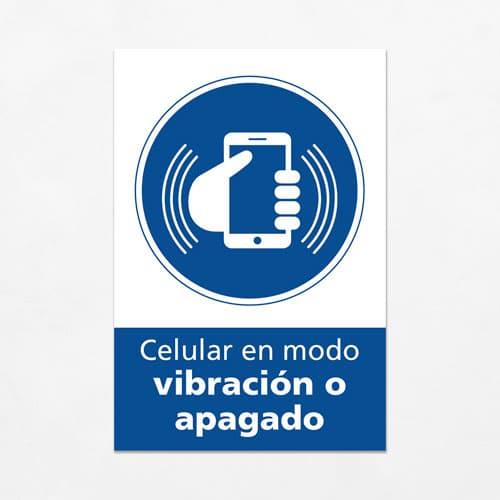 Señal Celular en modo Vibración o Apagado V