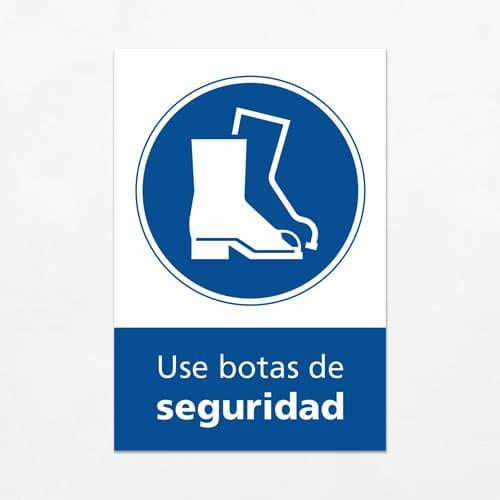 Señal Use Botas de Seguridad V