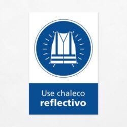 Señal Use Chaleco Reflectivo V