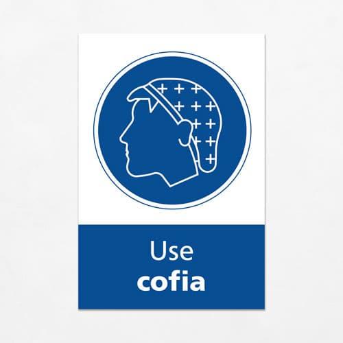 Señal Use Cofia V