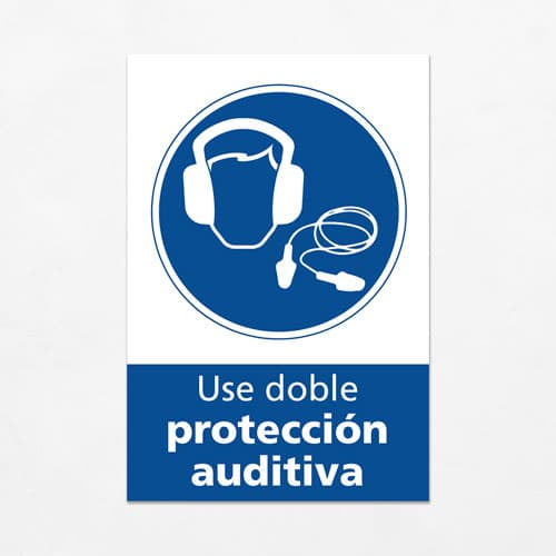 Señal Use Protección Auditiva V