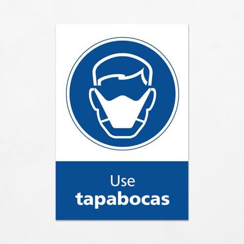 Señal Use Tapabocas V