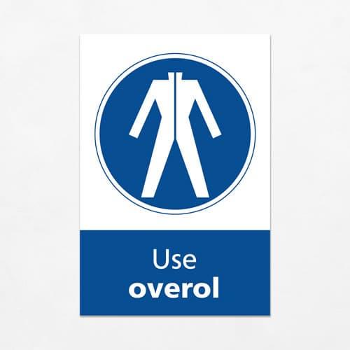 Señal Use Overol V