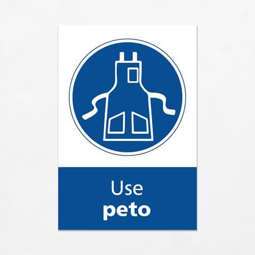 Señal Use Peto V