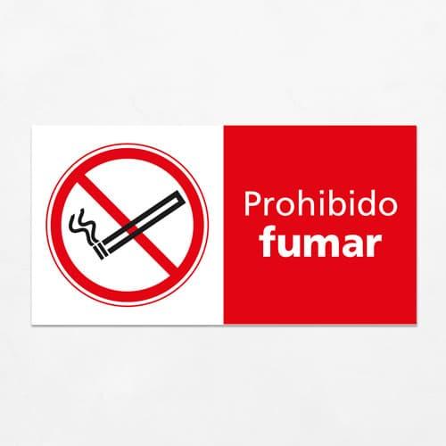 Señal Prohibido Fumar H