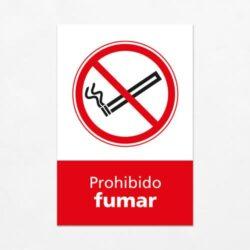 Señal Prohibido Fumar V